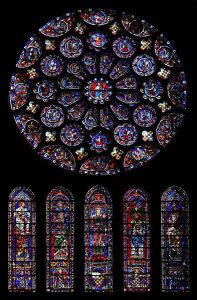 393px-South_rose_window_of_Chartres_Cathedral-1